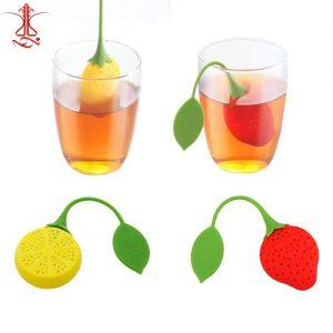 تی بگ سیلیکونی طرح لیمو و توت فرنگی