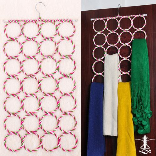 آویز شال و روسری 28 حلقه