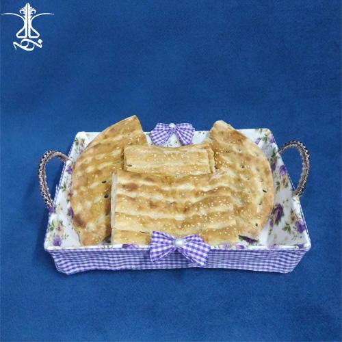 سبد نان پارچه ای گلدار