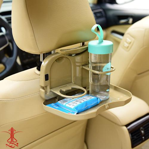 جالیوانی و سینی غذای تاشو مخصوص پشت صندلی خودرو