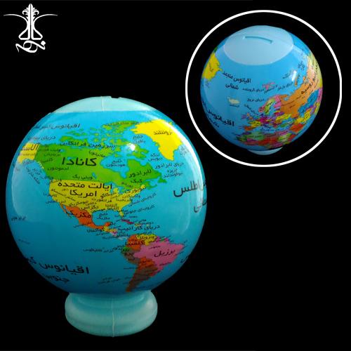 قلک پلاستیکی طرح کره زمین