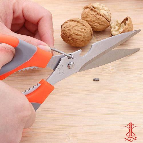قیچی چند کاره آشپزخانه - برش سیم و مفتول
