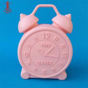 قلک پلاستیکی طرح ساعت