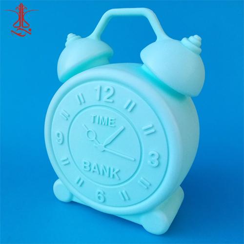 قلک پلاستیکی طرح ساعت رومیزی